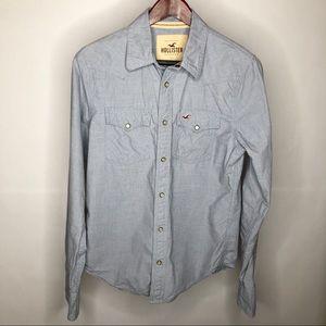 Hollister Snap Buttoned Western Shirt, Size S
